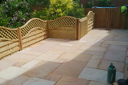 Block paving slabbing (Littleover)